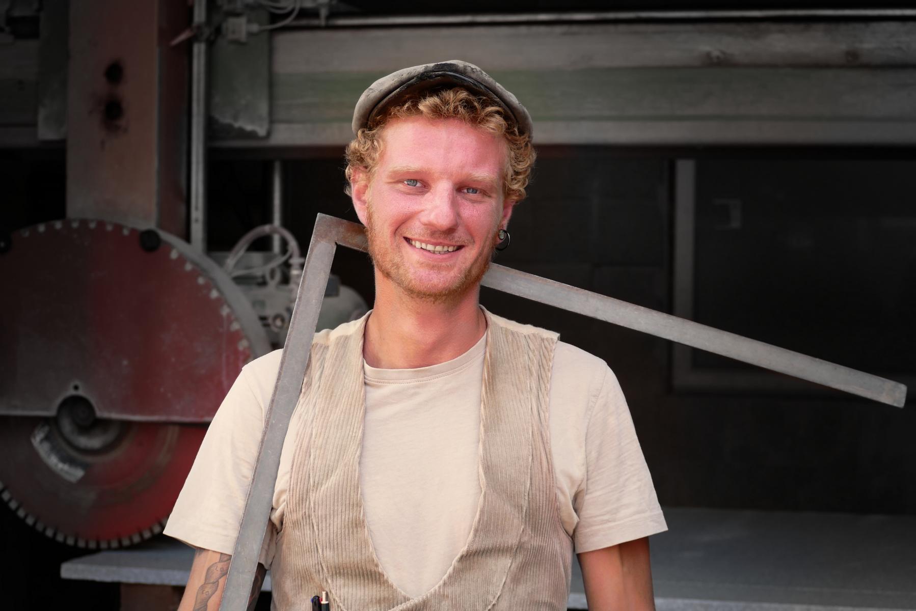Johannes Stapel - Steinmetzmeister